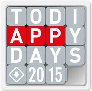TODI APPY DAYS LOGO #lspmed #legoseriousplay #todiappydays